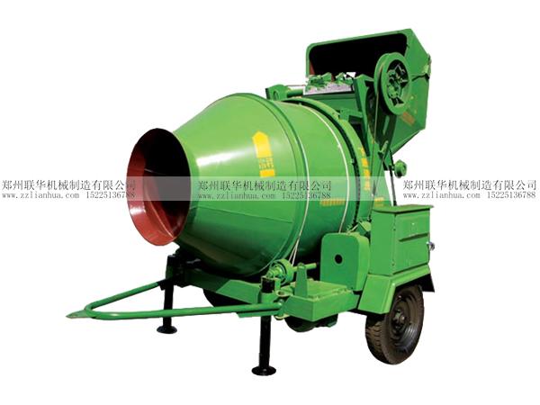 jzc300型滚筒式混凝土搅拌机