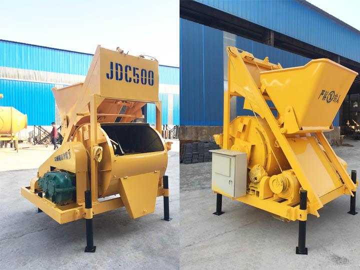JDC500型乐投下载搅拌机