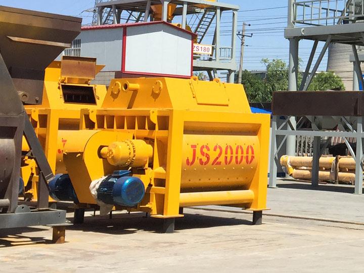 JS2000型乐投下载搅拌机