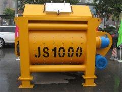 JS1000B型双卧轴强制式易胜博网站易胜博网站